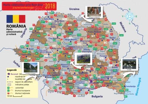 Harta Calatorii Prin Romania Personalizata
