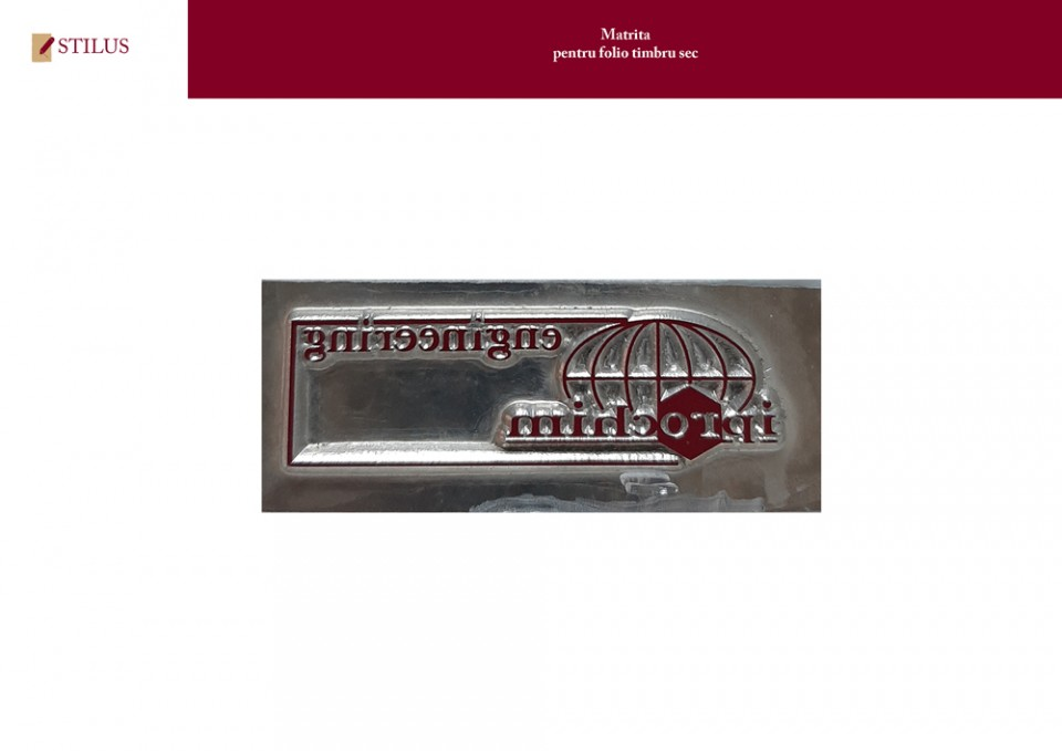 Galerie foto Matrita folio timbru sec