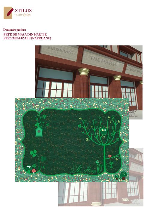 Galerie foto Naproane din hartie personalizate