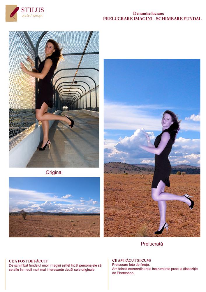 Galerie foto Servicii de design grafic si dtp - prelucrare foto 2