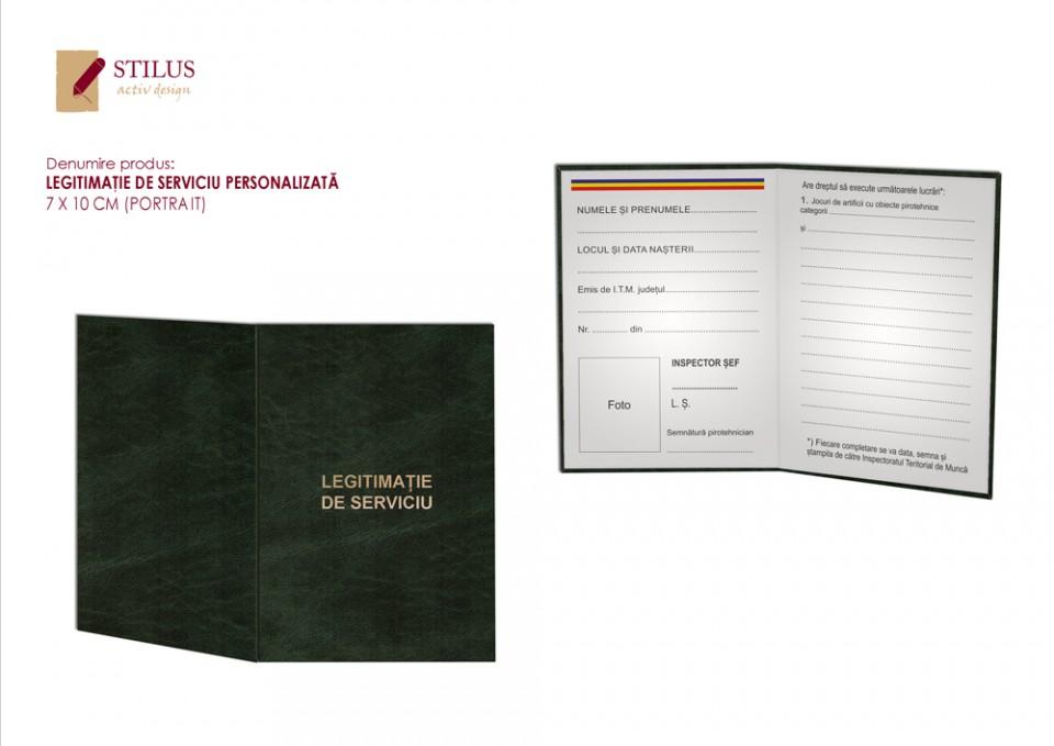 Galerie foto Legitimatie cartonata personalizata