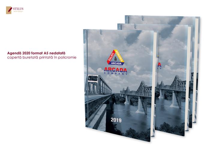 Galerie foto Agenda 2020 cu coperta in policromie