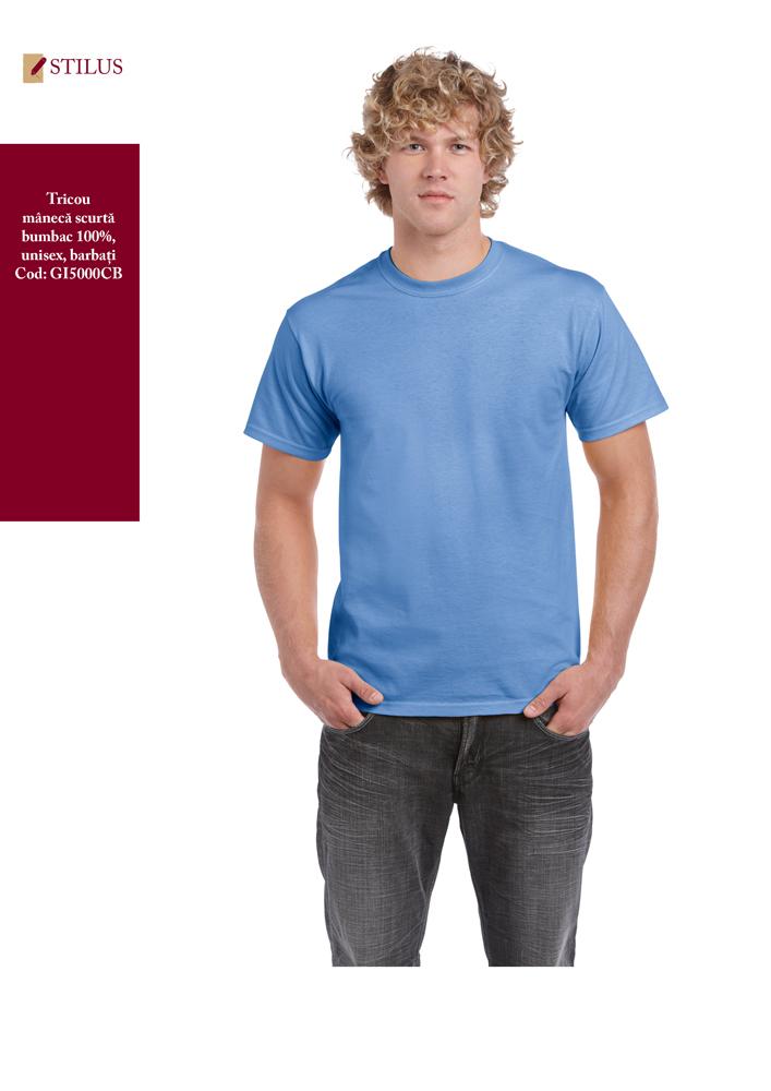 Galerie foto Tricou 100% cotton carolina blue