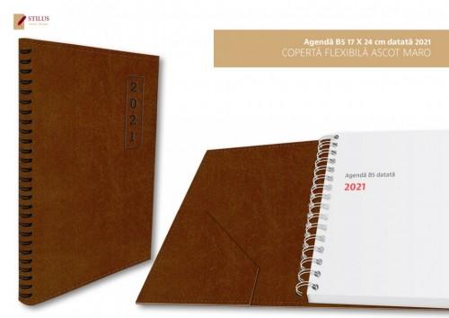 Agende B5 datate 2021 cu coperta flexibila