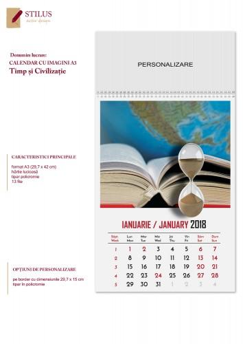 Calendar 2018 - A3 cu imagini