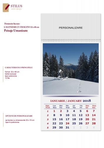 Calendar cu imagini 2018 Peisaje umanizate