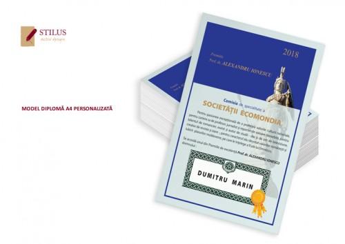 Diplome A4 personalizate