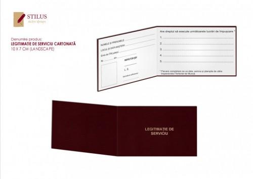 Legitimatie personalizata cu folio