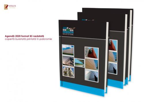 Agenda 2020 B5 cu coperta printata