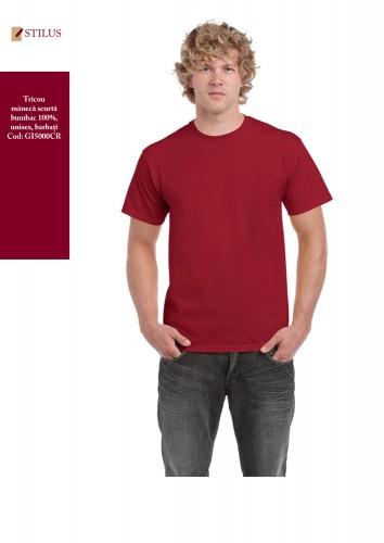 Tricou cu maneca scurta cardinal red