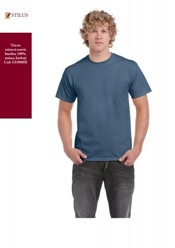 Tricou blue indigo 100% cotton
