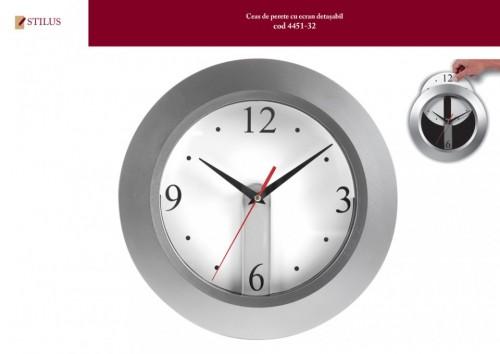 Ceas de perete cu cadran detasabil personalizat